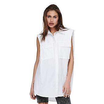 Alleen Women's Ashley Mouwloos Schouderpad Shirt