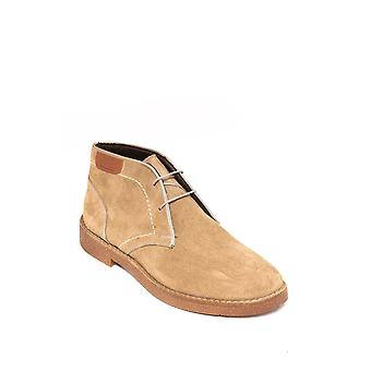 Beige suede men's boots | wessi