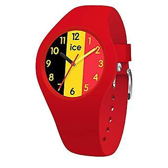 Ice-Watch - ICE world Ola Belgium - Rood Dameshorloge met siliconen band - 015737 (Small)
