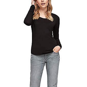 Q/S designed by - s.Oliver 510.10.012.12.130.2056153 T-Shirt, Black (999), S Donna