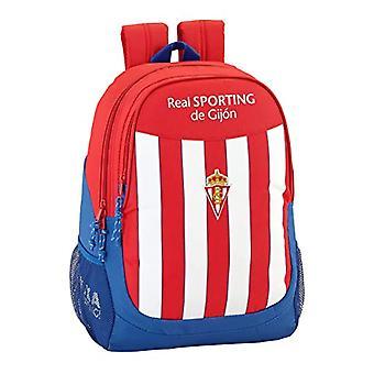Real Sporting De Gijon Official Backpack, School Backpack(1)