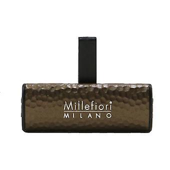 Millefiori Icon Metal Shades Car Air Freshener - Sandalo Bergamotto 1pc