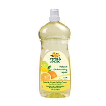 Citrus Magic Natural Dish Liquid, 25 oz