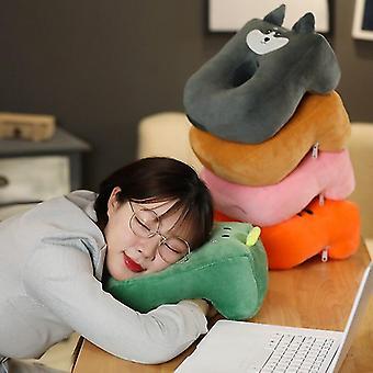Pillow Cushion Travel Pillow nakkestøtte chin støtte puder til plane bil kontor hvile hals nap