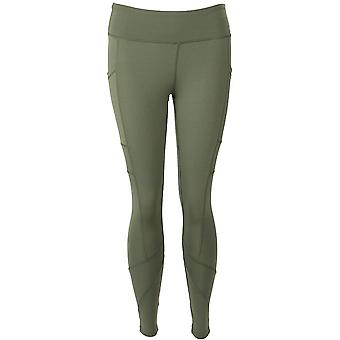 FitKicks Crossovers Active Lifestyle Leggings - Olive