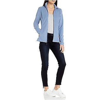 Essentials Damen's Full-Zip Polar Fleece Jacke, Aqua, X-Large