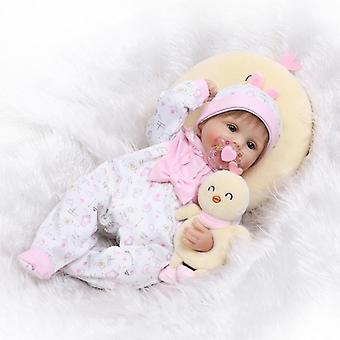 Puha szilikon újjászületett baba baba játékok élethű szép újszülött lányok babák divat születésnapi ajándékok gyerekeknek
