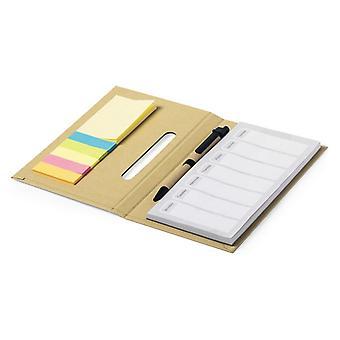 Notesblok 146543 (11,8 x 19 x 1,6 cm) Naturlig