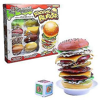 Up Stacking Hamburger Balance game Baby Balance Stacking Game Toys