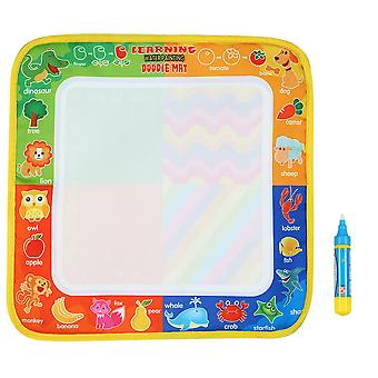 Non-toxic Water Drawing Mat Board Painting And Writing Doodle With Magic Pen For Baby Kids