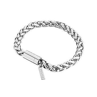 Police jewels men's bracelet large pj25135bss01-l