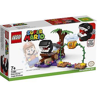 Lego Super Mario Ketting Chomp Jungle Encounter Uitbreidingsset 71381
