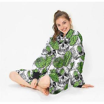Wearable Hooded Blanket, Shu Cotton Velvet Padded Blanket, Lazy Blanket, Tv Blanket(S1)