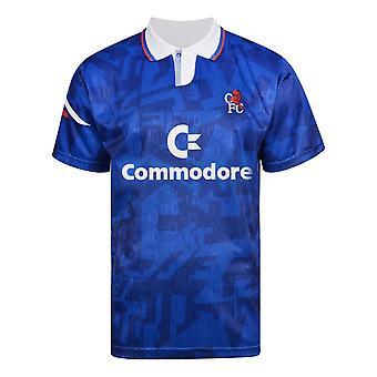 Score Draw Chelsea 1992 Retro Football Shirt