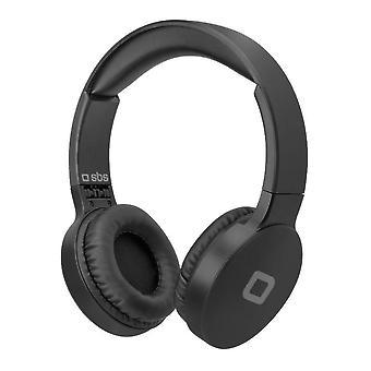 Headphones with Microphone SBS TEHEADPHDJBEATK