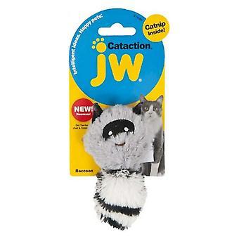 JW Pet Cataction Catnip Plush Skunk Cat Toy  - 1 count