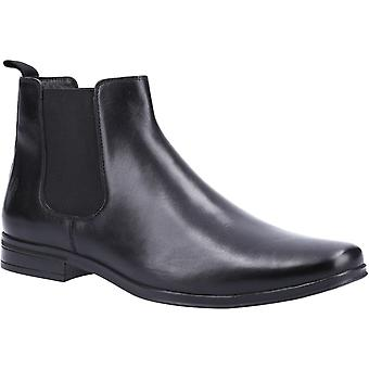 Hush Puppies Mens Bryce Leather Chelsea Boots