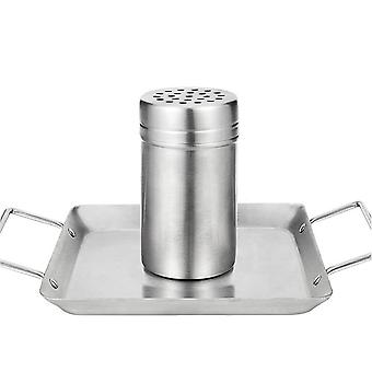 Outdoor Barbecue Stainless Steel Bbq Tools Removable Beer Roast Chicken Casserole Stainless Steel Beer Can Roasting Pan