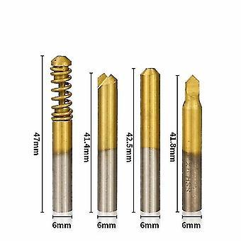 Locks latches xcan 4pcs vertical key machine cutter for special keys locksmith tools dimple key cutting tools key