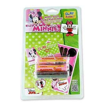 Les copains de Minnie Mouse argile Blister Pack