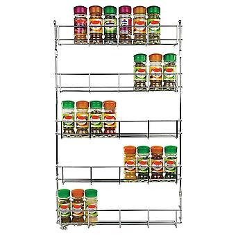 5 niveaux Cuisine Spice Rack Armoire Organisateur Mur Mount Étagère de stockage Support De cuisine Rack de rangement