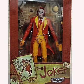 Qian Joker Joker Orange Clown con porro súper móvil, nuevos periféricos de anime Boxed Hand Office Boy