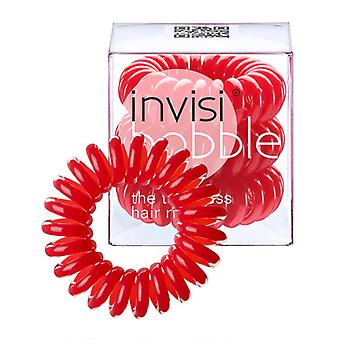 Invisibobble spoorloze haar Ring x3-Raspberry Red