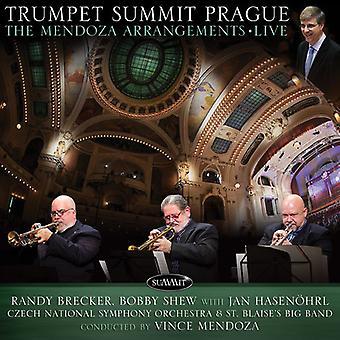 Brecker Randy / näytän, Bobby - trumpetti huippukokouksen Praha: Mendoza järjestelyt Live [CD] USA tuonti