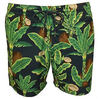 O ' Neill Venturer coco arbres Print Swim Shorts, vert/bleu