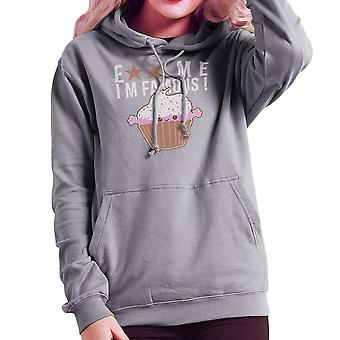 Eat Me Im Famous Cupcake Women's Hooded Sweatshirt