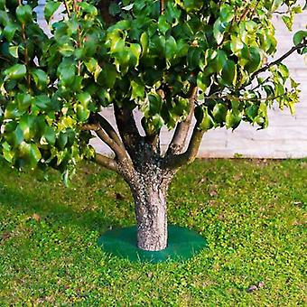 Tree Guard - Weed & Grass Control around Tree trunks Or Posts - 2 Pack (Large) - Grass Edge