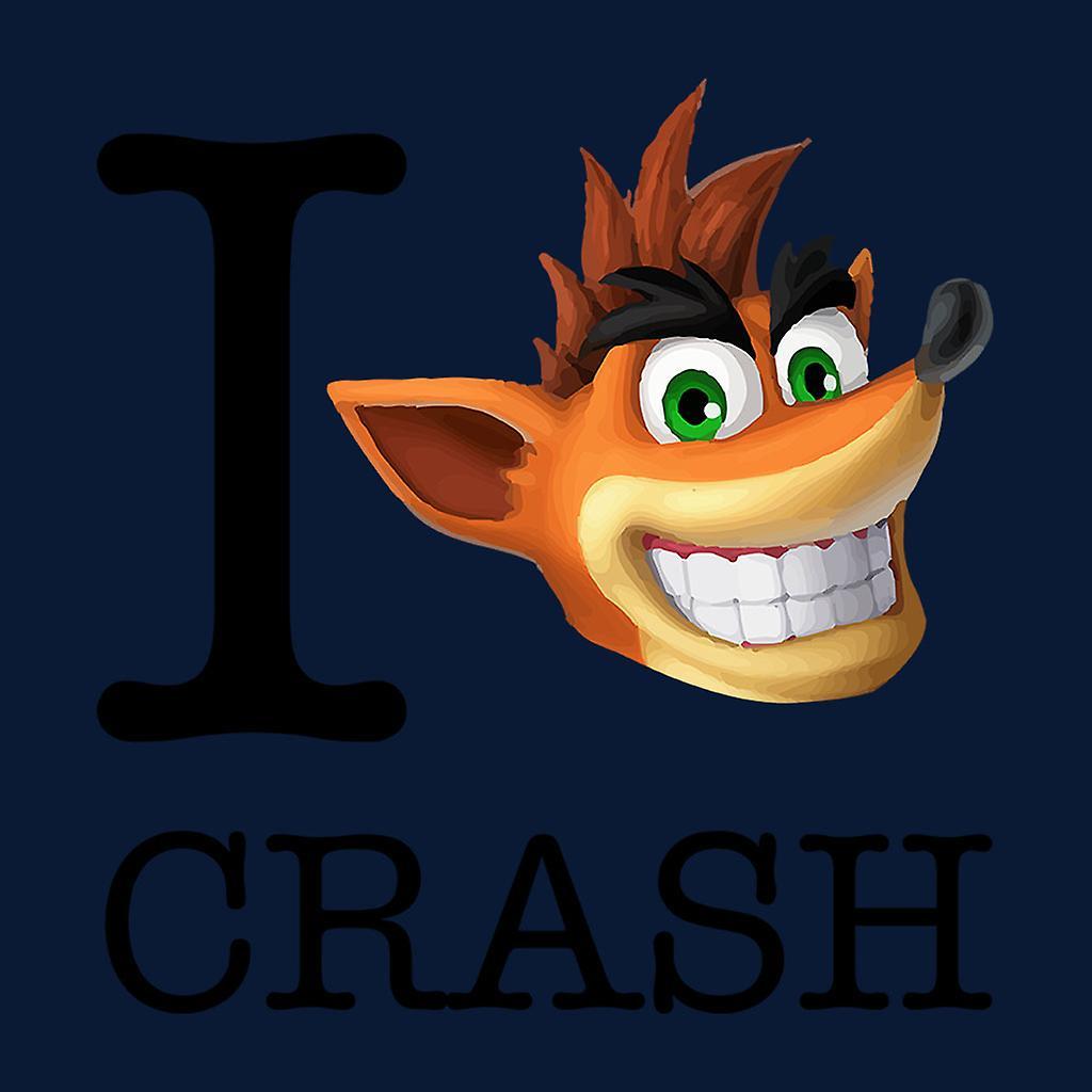 Me encanta Crash Bandicoot Varsity chaqueta de