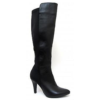 Paikalla naisten/naisten korkea kallistuneena jalka saappaat