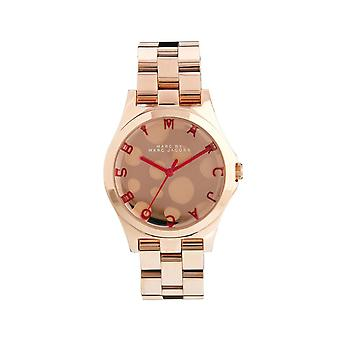 Marc By Marc Jacobs Damen Rose Gold Watch MBM3268