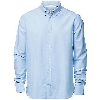 Nimbus Mens Rochester Classic Long Sleeved Cotton Oxford Shirt
