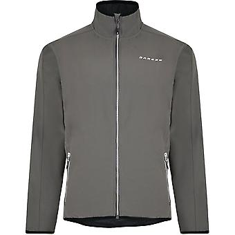 Dare 2b Mens Allied Softshell Water Repellent Jersey Backed Jacket