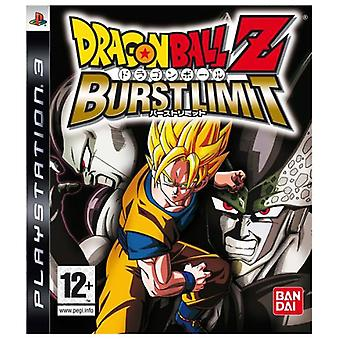 Dragon Ball Z Burst Limit (PS3) - Neu