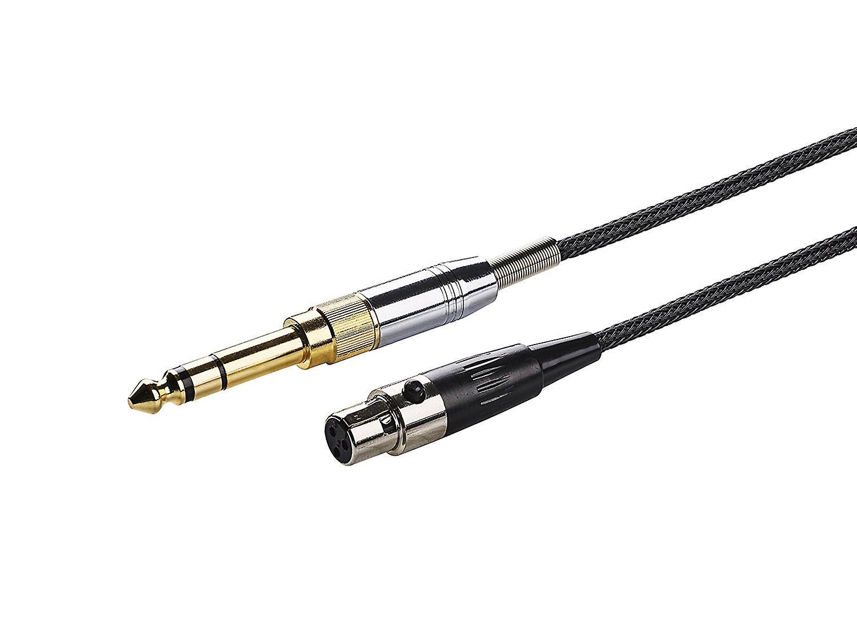 1.5m Cable For AKG K141 K171 K181 K240 and Pioneer HDJ-2000 Headphones
