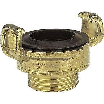 GARDENA 7114-20 latão trava garra acoplamento-rosca parte acoplador de mandíbula, 26,44 mm (3/4) OT