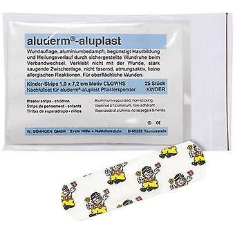 Söhngen 1009921 Aluderm®-aluminium plast Refill Set Dispenser Clown en 25 bitar