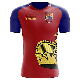 2020-2021 Liechtenstein Home Concept Football Shirt