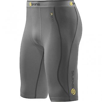 SKINS A200 Men's Compression Half Tights gray marle - B60102002