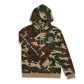 Brixton Oath II Pullover Hoodie Camo