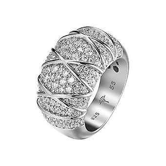 Joop mujer anillo plata rosado Circonita mosaicos JPRG90724A