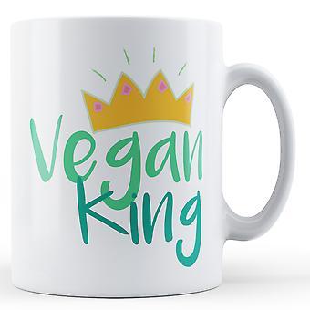 Rei de vegan - caneca impressa