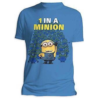 Despicable me 1 t-shirt in un minion (servi)