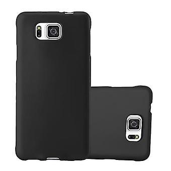 Cadorabo Hülle für Samsung Galaxy ALPHA hülle case cover - Handyhülle aus flexiblem TPU Silikon – Silikonhülle Schutzhülle Ultra Slim Soft Back Cover Case Bumper