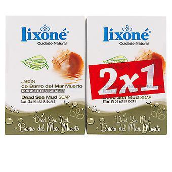 Lixone Barro Del Mar Muerto Jabón Piel Grasa 2 X 125 gr. Unisex