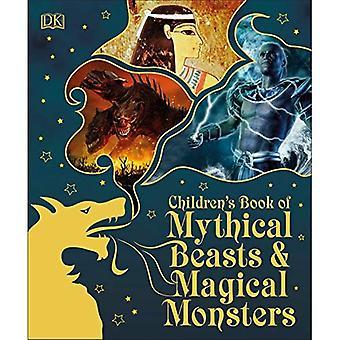 Barnbok av mytiska bestar och magiska monster