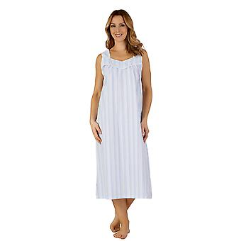 Slenderella ND3222 vrouwen geweven Night Gown Lounge Pyama